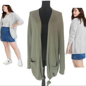 Madewell Palisades Knit Sweater Cardigan